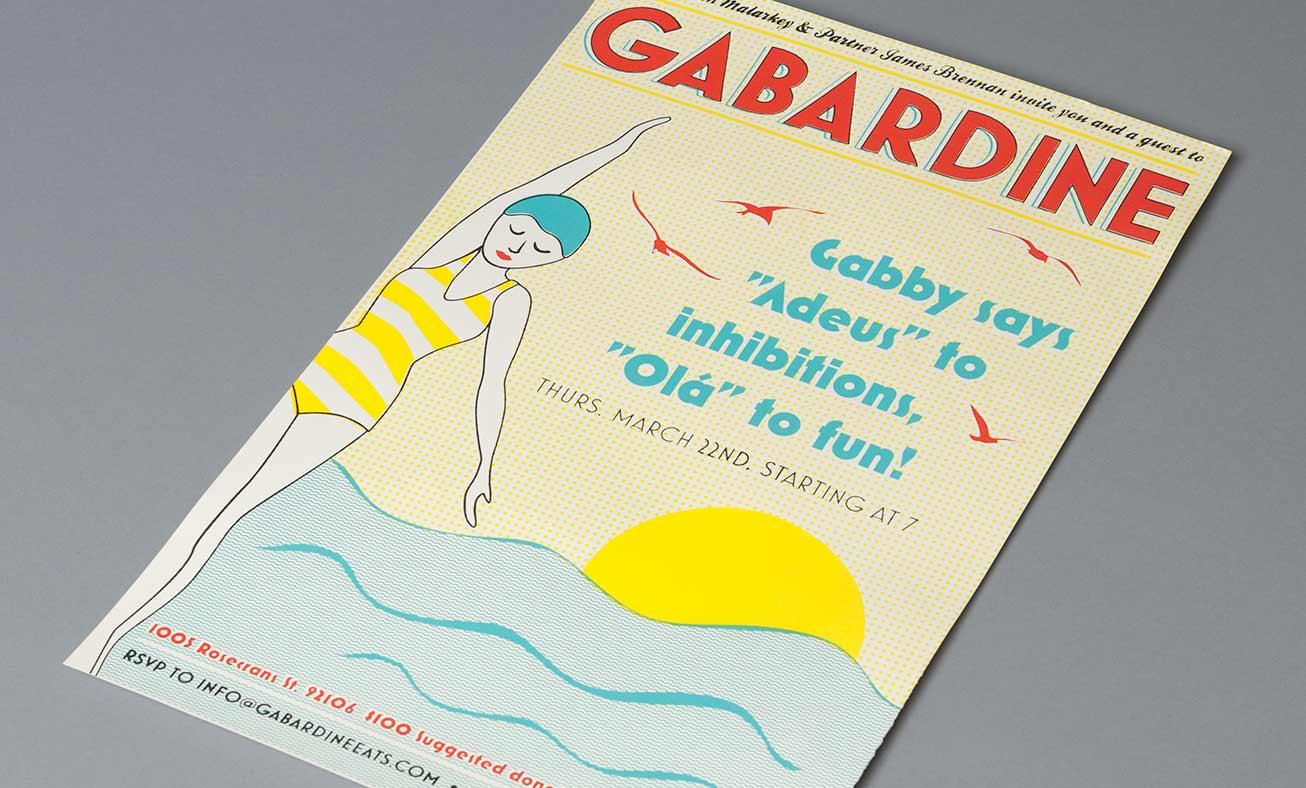 gabardine_poster