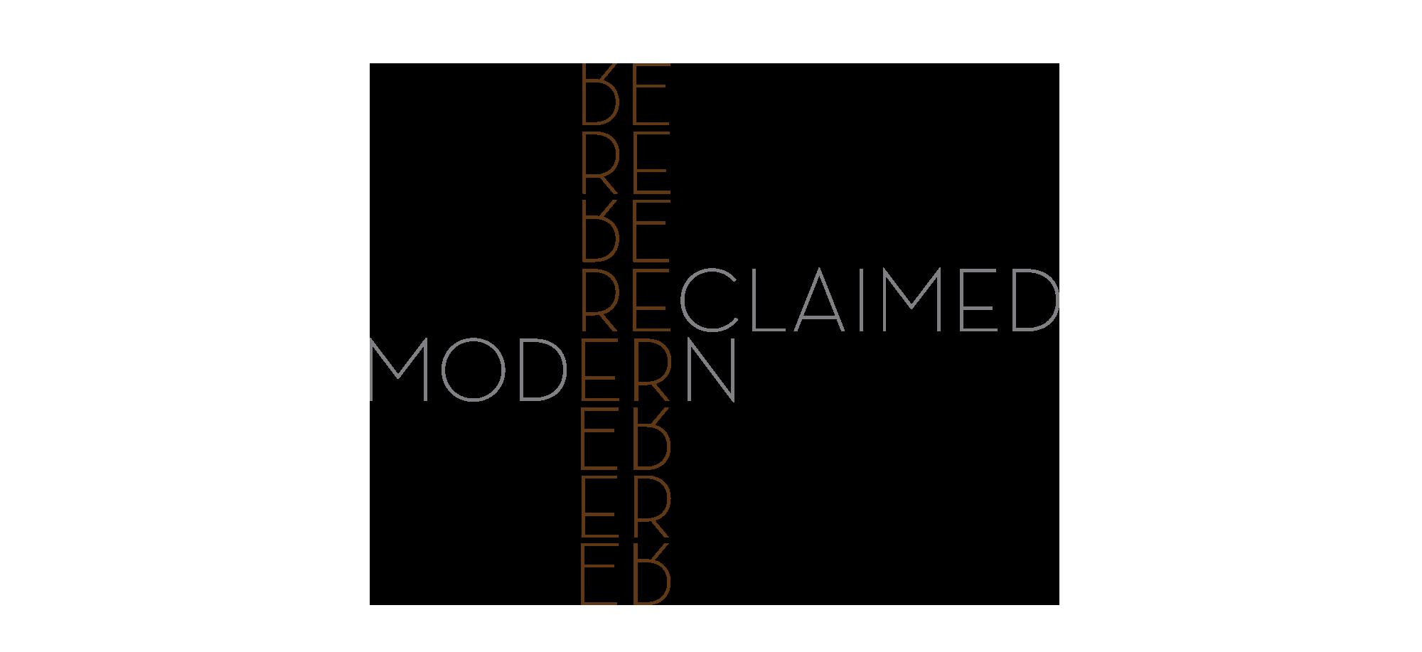 Reclaimed Modern