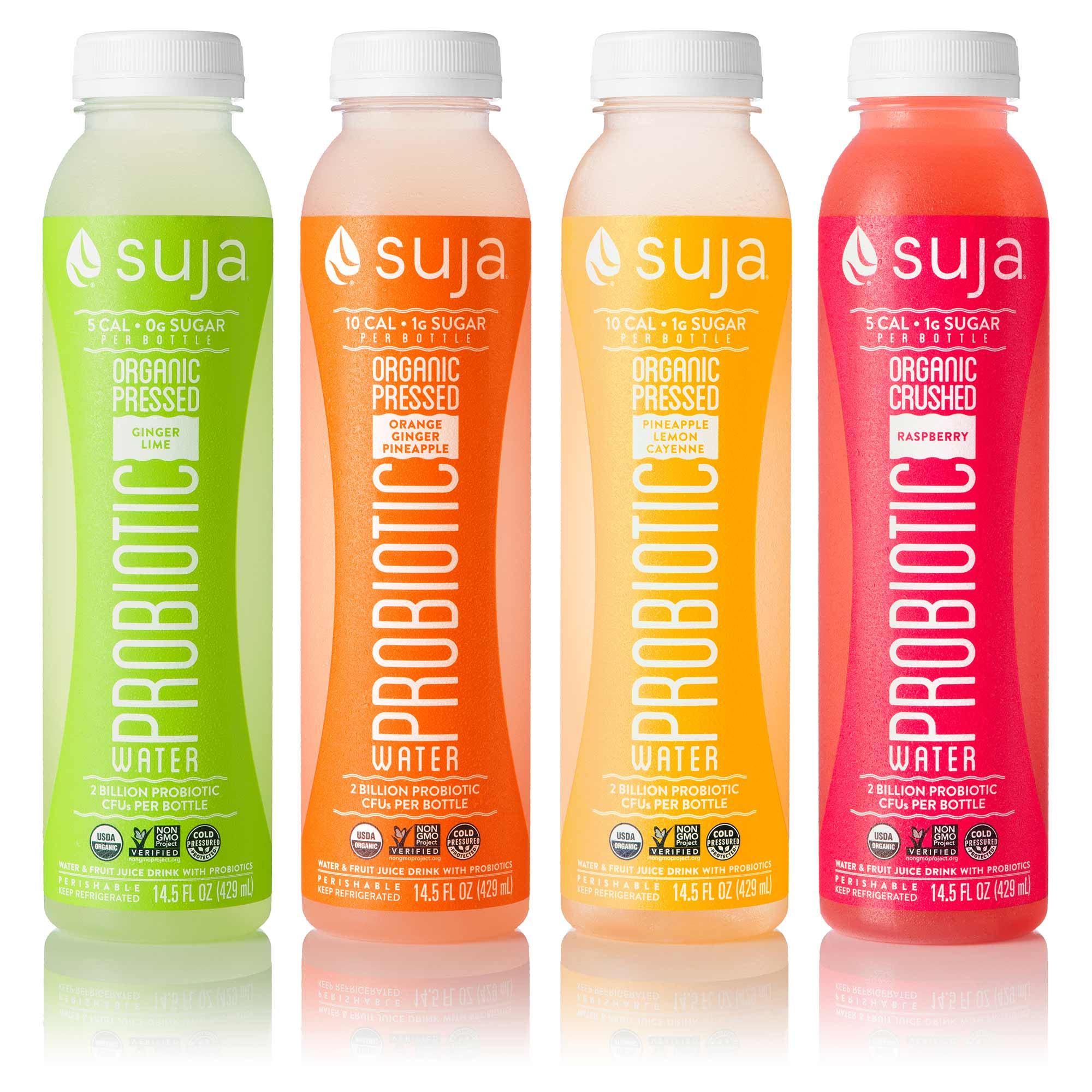 New innovations we designed for Suja hitting Target shelves in February 2016.